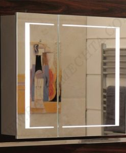 Огледален PVC шкаф за баня ICMC 6015 60