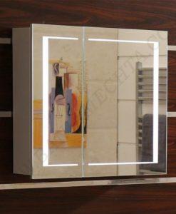 Огледален PVC шкаф за баня ICMC 6015 80