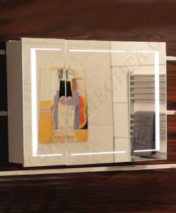 Огледален PVC шкаф за баня ICMC 6015 90