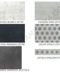 Плочки за баня CHATEAU