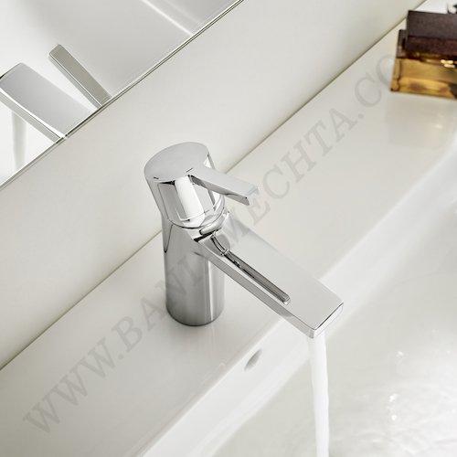 Смесител за мивка с автоматичен изпразнител и Cold Start NAIA A5A3096C00_3