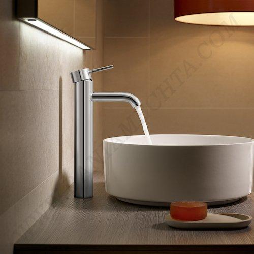 Смесител за мивка с висок чучур и click clack клапа Cold Start LANTA A5A3411C00_3