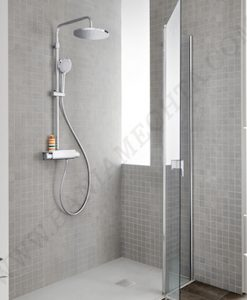Термостатична душ колона с полица DECK T ROUND A5A9788C00
