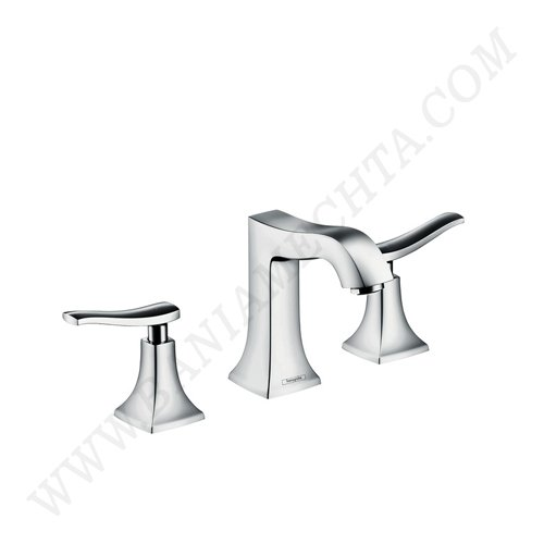 Тридупков смесител за мивка METRIS CLASSIC