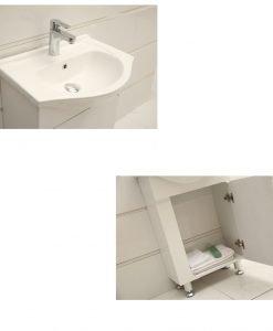 PVC шкаф за баня Адина 5543