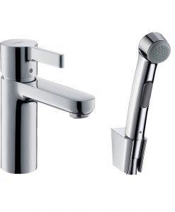 Смесител за мивка с подвижен душ METRIS S 31160000