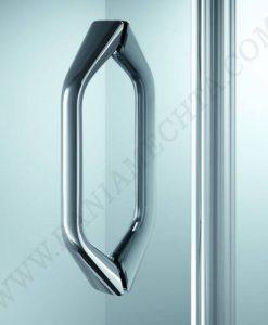 Двойна отваряема врата за душ кабина HUPPE X1 75 см