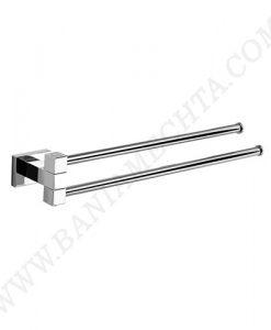 Двойна пръчка за хавлия ножица 40 см TREASURE 8222
