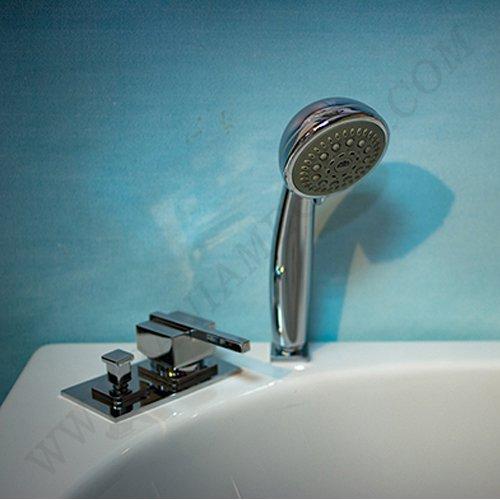 Каскадна батерия за вана ХАРМОНИЯ_подвижен душ