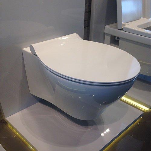 Окачена тоалетна SANTRA RIMFREE