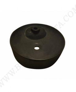 Порцеланова мивка за плот с централен отвор за смесител ICB 87