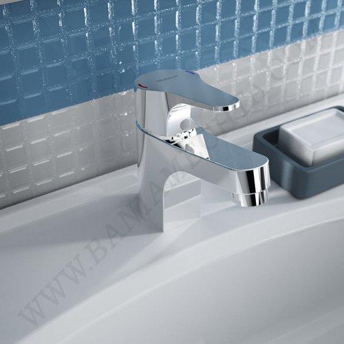 Смесител за мивка с пластмасов изпразнител SEVA NEXT B1921AA_2