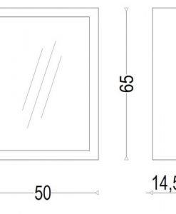 PVC Шкаф за баня ИРА 55