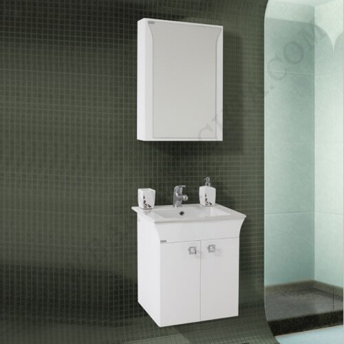 PVC Шкаф за баня комплект ЛИНЕА 55_2