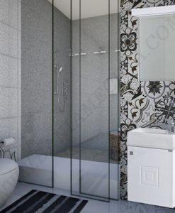 PVC Шкаф за баня комплект САРА 40