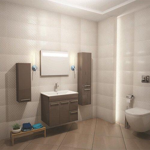 PVC шкаф за баня модел ELEGANCE