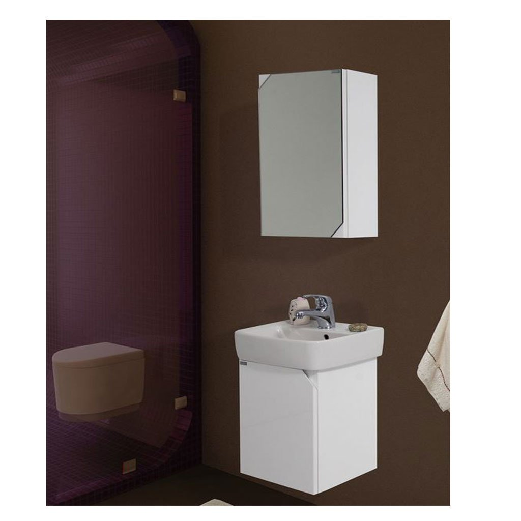 PVC Шкаф за баня комплект ЛОРА 40