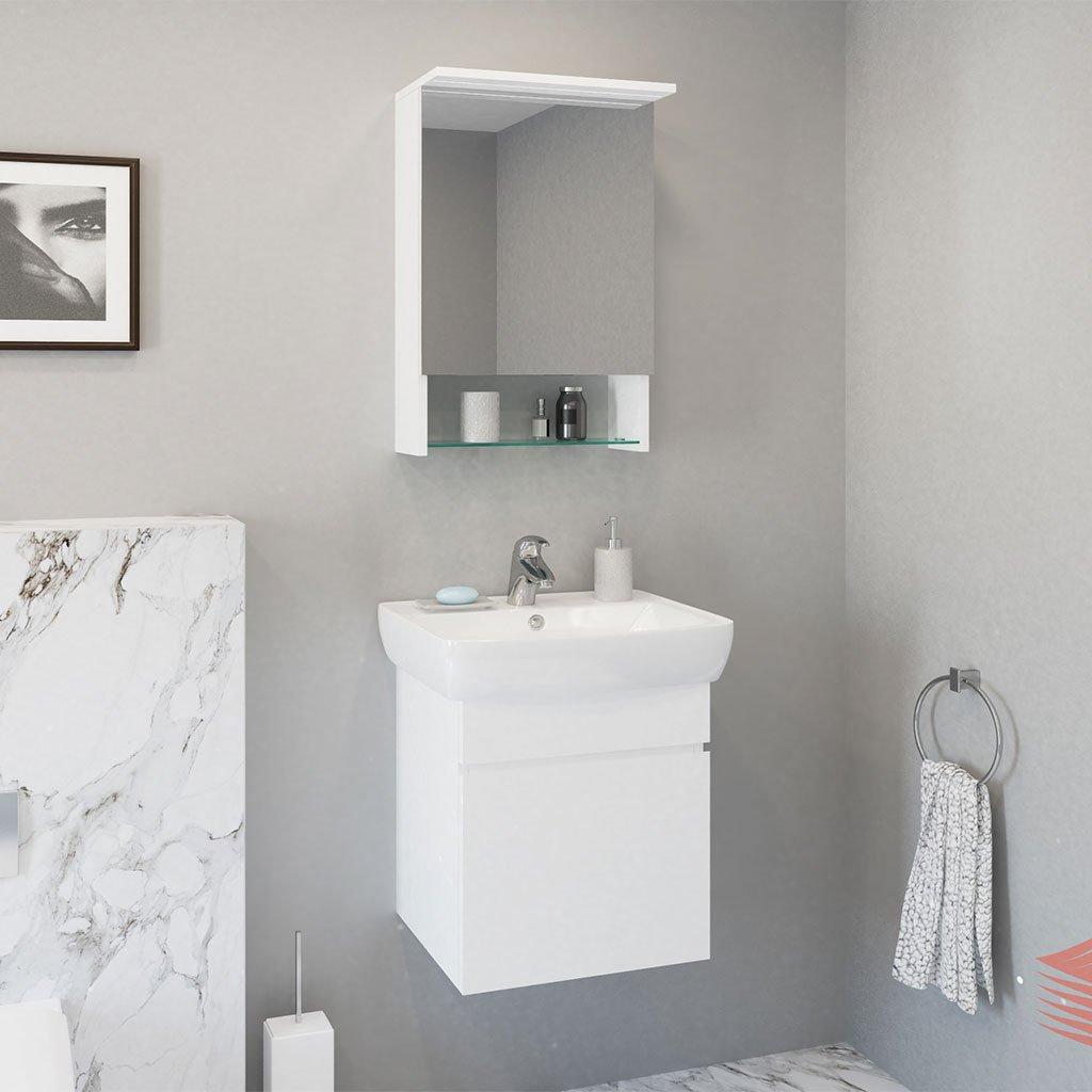 PVC Шкаф за баня комплект ЛОРА 50