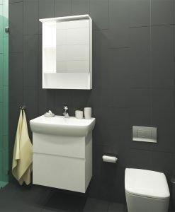 PVC Шкаф за баня комплект ЛОРА 60