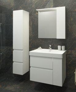 PVC Шкаф за баня комплект ТРАФИК 75