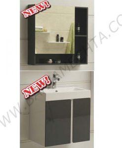 Комплект сив PVC шкаф за баня ICP 6087 ICMC 5070-60
