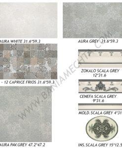Плочки за баня AURA GREY