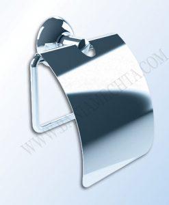 Държач за тоалетна хартия с капак серия CLASSIC C402