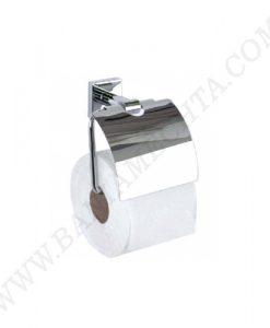 Държач за тоалетна хартия с капак LAHTI 636810