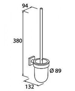 Четка за тоалетна QUARUNA 754310