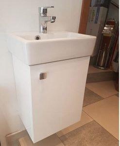 PVC шкаф за баня Елизабет