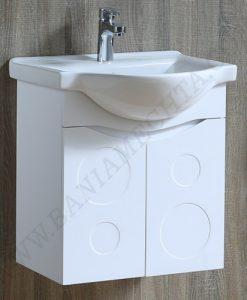 Комплект PVC шкаф за баня ДЕЛТА_2