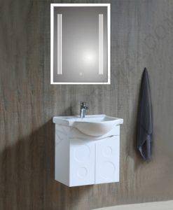 Комплект PVC шкаф за баня ДЕЛТА