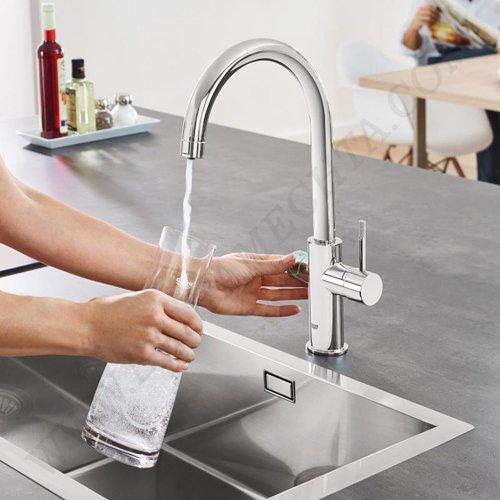 Кухненски смесител за филтрирана, изстудена и газирана вода GROHE BLUE HOME_2