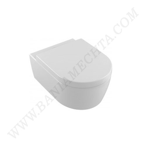 Окачена тоалетна AVENTO DirectFlush със седалка с плавно затваряне_2