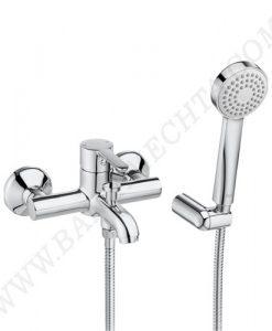 Смесител за вана и душ с аксесоари ROCA CARELIA