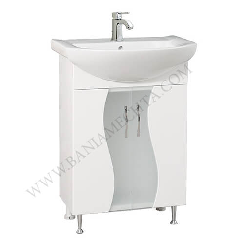 PVC шкаф за баня МЕЛАНИ