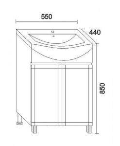 PVC шкаф модел Рила