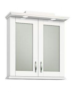 Горен PVC шкаф за баня модел Хера