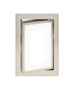 Луксозна ревизионна вратичка в бял цвят