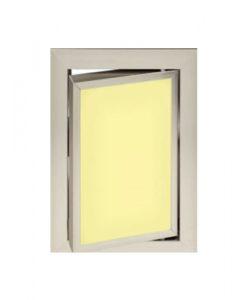 Луксозна ревизионна вратичка в жълт цвят