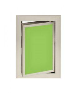 Луксозна ревизионна вратичка в зелен цвят