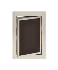 Луксозна ревизионна вратичка в кафяв цвят