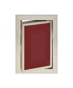 Луксозна ревизионна вратичка в цвят бордо