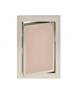 Луксозна ревизионна вратичка в цвят капучино