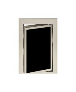 Луксозна ревизионна вратичка в черен цвят