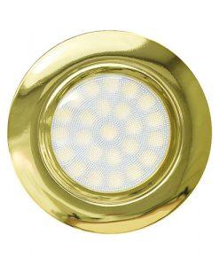 Мини LED луна за вграждане неутрална светлина LML220442G злато