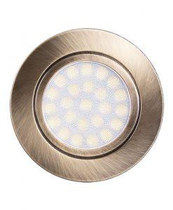 Мини LED луна за вграждане неутрална светлина LML220442SB сатен