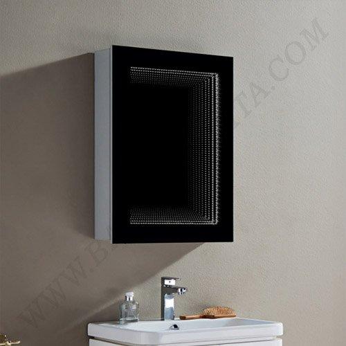 Огледален шкаф за баня с LED осветление ЕЛИЗА INFINITY ICL 1717