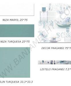Плочки за баня серия NIZA MALLOL
