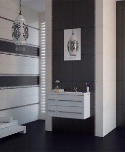 Плочки за баня серия NUANS BLACK